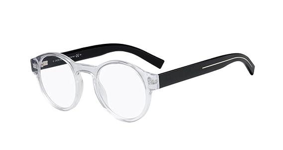 6d7d66977ba Amazon.com  New Christian Dior Homme Black Tie 245 MNG Crystal Black Eye  Wear Eye Glasses  Clothing