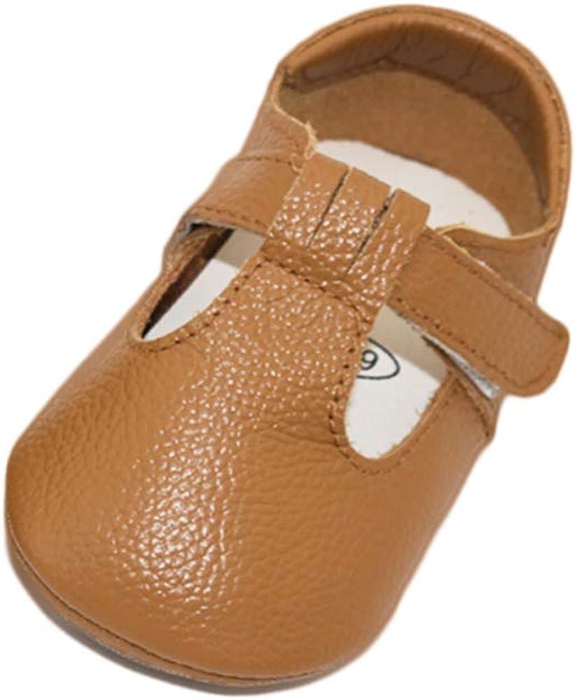 TRIWORIAE-Chaussures B/éb/é Cuir Souple Chaussons Premiers Pas Respirant pour Gar/çon Fille Nourrisson Efant /Éte