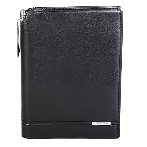 Cross Classic Century Men's Passport Wallet -Black (AC018173-1) ()