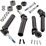 Traxxas 1 10 Skully 2WD FRONT & REAR AXLES - REAR DRIVE SHAFTS & 12mm HEX HUBS