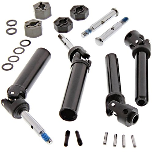Traxxas 1/10 Skully 2WD FRONT & REAR AXLES, REAR DRIVE SHAFTS & 12mm HEX HUBS
