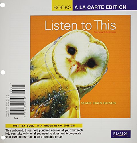 Listen to This + MyMusicLab with eText Access Card: Books a La Carte Edition