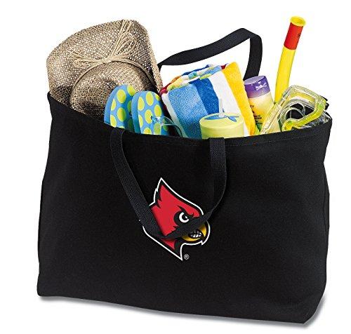 - Broad Bay Jumbo Louisville Cardinals Tote Bag or Large Canvas University of Louisville Shopping Bag