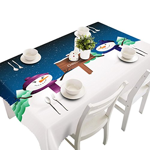 Tablecloth Vinyl Printed 60 Inches Round - 8