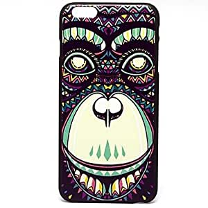 Ink Orangutan Pattern Hard Case Cover for iPhone 6 Plus