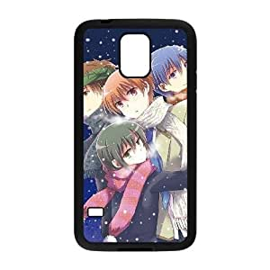 Anime Angel Beats Samsung Galaxy S5 Cell Phone Case Black persent xxy002_6041782