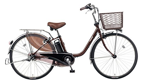 Panasonic(パナソニック) 2018年モデル ビビPX 24インチ BE-ELP434 電動アシスト自転車 専用充電器付 B078KFGNYZ T:チョコブラウン T:チョコブラウン