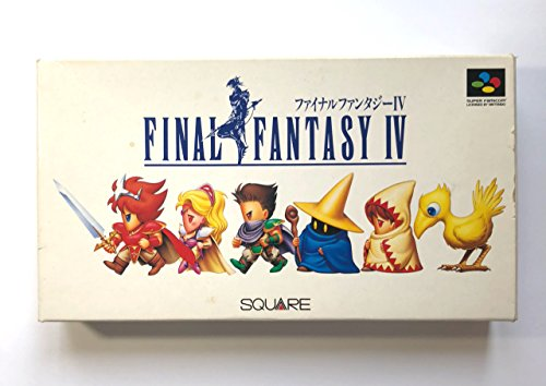 Final Fantasy IV (Japanese Import Video Game)