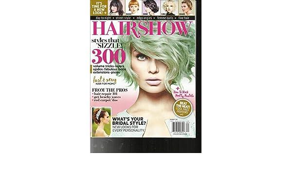 4bf8cfb8e4 Amazon.com   HAIR SHOW MAGAZINE