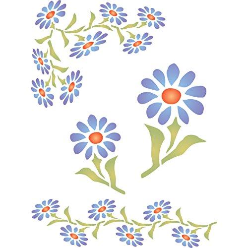Gerber Daisy Stencil - (size 6.5