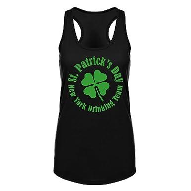 a4fa2c663 Amazon.com: Fannoo Womens St Patricks Day Workout Tank Tops -Funny Saying  Shamrock Crossfit Gym Raceback Sleeveless Shirts for Women: Clothing