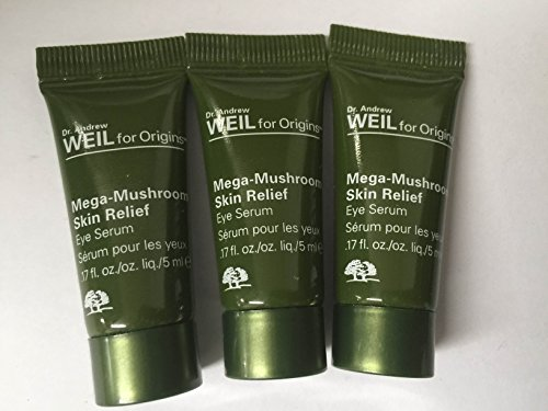 Origins Dr. Andrew Weil For Origins Mega-Mushroom Skin Relief Eye Serum 5 ml * 3 = 15 ml