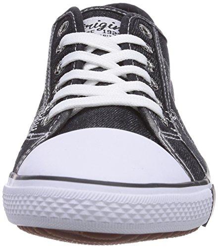 H.I.S 151-008 Herren Sneakers Schwarz (Black)