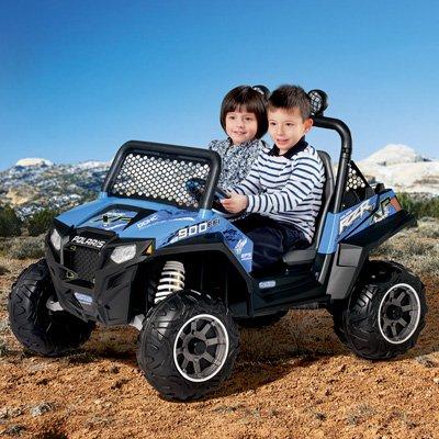 Peg Perego Polaris RZR 900 Ride On, Blue, 12V