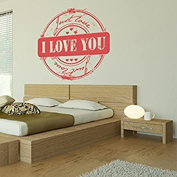Just Love Autocollant Mural Rond Sticker Mural Lilas 104 X 100