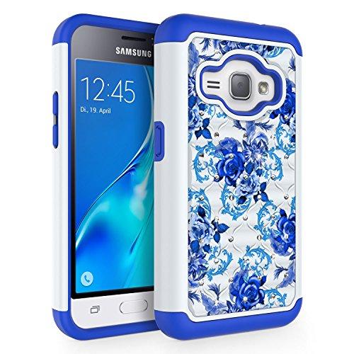 Slim Shockproof Case for Samsung Galaxy J1 (Dark Blue) - 5