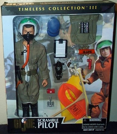 GI Joe Timeless Collection SCRAMBLE PILOT 12