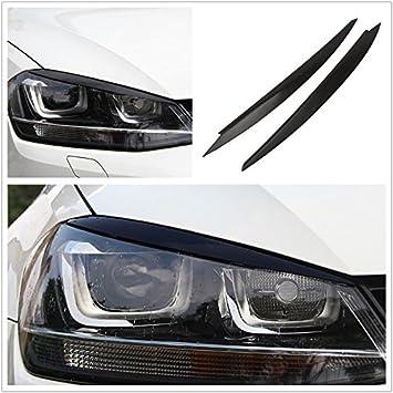 Flash2ning - Faros delanteros para VW Golf 7 VII GTI R MK7, color negro: Amazon.es: Coche y moto