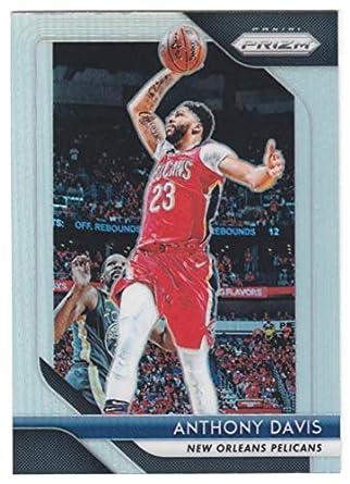 2018-19 Panini Prizm Prizms Silver  177 Anthony Davis New Orleans Pelicans  Basketball Card e56e67697