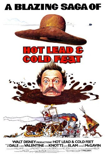 - Hot Lead and Cold Feet POSTER Movie (27 x 40 Inches - 69cm x 102cm) (1978)