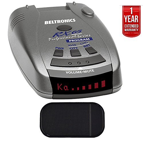 Beltronics RX65 Red Professional Series Radar/Laser Detector with Car Mat Bundle + 1 Year Extended Warranty by Beltronics (Image #3)