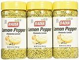 Badia Lemon Pepper Seasoning, 6.5-Ounce (Pack of 6)
