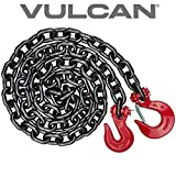 VULCAN Binder/Safety Chain Tie Down with Grab Hooks