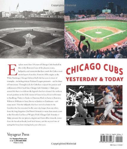 Chicago Cubs Yesterday & Today: Yesterday and Today: Amazon ...