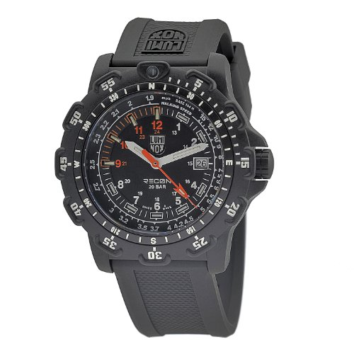 Luminox Men's 8822.MI Recon Pointman Black, Rubber Band, With Multi Color Accents Watch