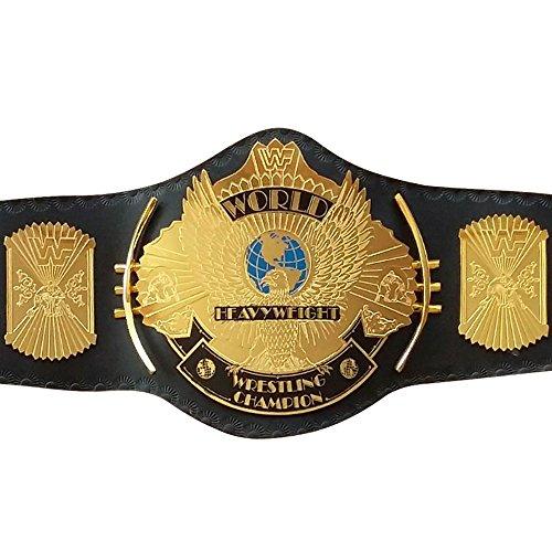 (WWE WWF Classic Gold Winged Eagle Championship replica Belt Adult Size Title Belt)
