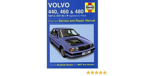 Volvo 440, 460 and 480 1987-97 Service and Repair Manual Haynes Service and Repair Manuals: Amazon.es: A. K. Legg: Libros en idiomas extranjeros