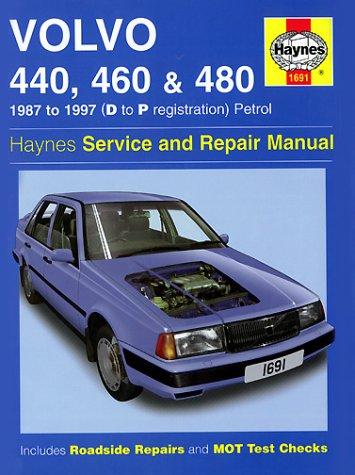 Volvo 440, 460 and 480 (1987-97) Service and Repair Manual (Haynes Service and Repair Manuals)