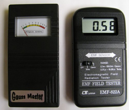 Gauss Master & 822a Digital EMF Meter Combo by Lutron