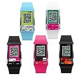 Unisex Bracelet Wrist Watch Casual Sport Use with Date Calendar LED Night Light Alarm Digital Watches