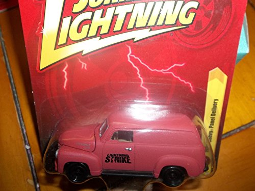 Qiyun Johnny Lightning 1 64 JL Release 23 Red 1950 Chevy Panel Delivery