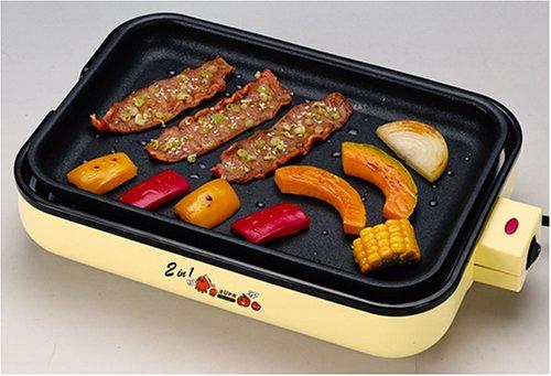 Multi use electric hot plate - Takoyaki, Okonomiyaki, Yakiniku Japan