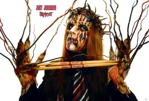 Joey Jordison Drummer of Slipknot Music Poster Size 24x35 Inch J-1972 ()