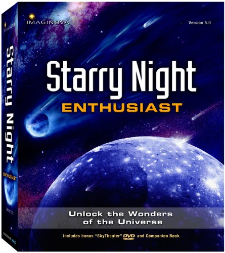 Starry Night Enthusiast 5.0 Astronomy Software (Win/Mac)