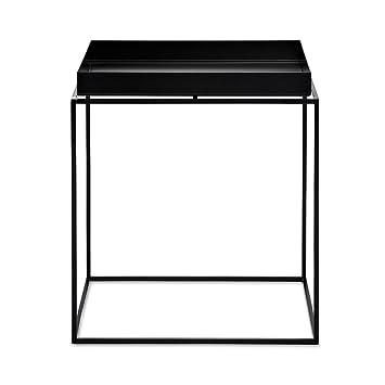 Hay Tray Table 40 X 40 Cm Schwarz Amazonde Küche Haushalt