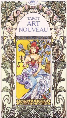 Tarot Art Nouveau (English and Spanish Edition)