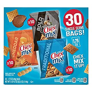 Chex Mix Classics Snack Mix, 30 ct. Net Wt 52.5 Ounce