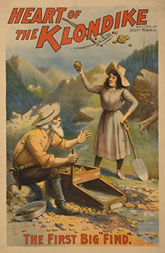 heart-of-the-klondike-gold-mining-theatre-poster-1-24x36-collectible-giclee-gallery-print-wall-decor