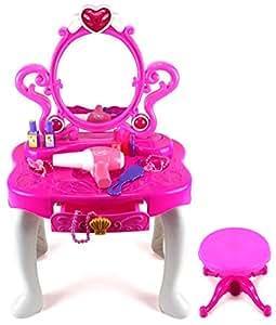 Amazon Com Princess Dressing Table Pretend Play Battery