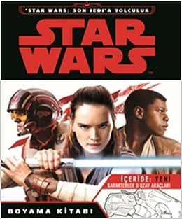 Star Wars Son Jedia Yolculuk Boyama Kitabı Içeride Yen