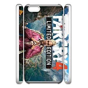 High Quality Specially Designed Skin cover Case iPhone 6 5.5 Inch Cell Phone Case 3D games Far Cry 4 Limited Edition