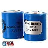 Exell 2.4V Razor Battery For Norelco 800RX, 805RX, 815RX,...