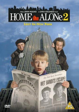 Home Alone 2 Lost In New York 1992 Dvd Amazon Co Uk Macaulay Culkin Joe Pesci Daniel Stern Catherine O Hara John Heard Devin Ratray Hillary Wolf Maureen Elisabeth Shay Michael C Maronna Gerry