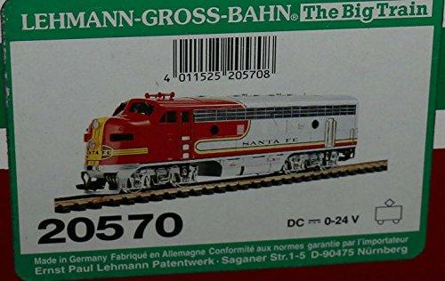 LGB Santa Fe Locomotive 20570