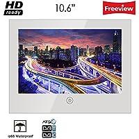 Soulaca 10.6 Bathroom Mirror Led Hotel TV Waterproof TV M106FN-1B