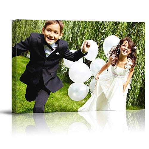(signwin Custom Canvas Prints with Your Photos Canvas Wall Art Digitally Printed - 11x14 inches)